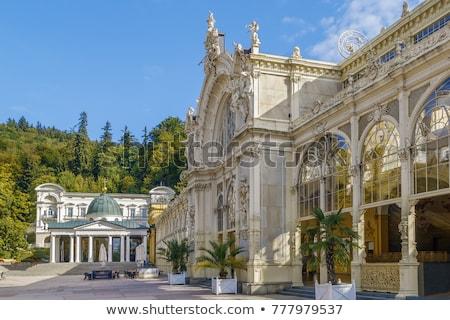 Main Spa Colonnade in Marianske Lazne Stock photo © borisb17