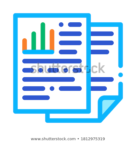 Medical History Biohacking Icon Vector Illustration Stock photo © pikepicture