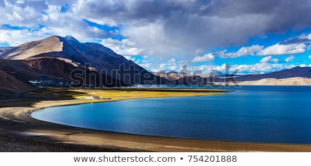 Lago himalaya India cielo acqua nubi Foto d'archivio © dmitry_rukhlenko