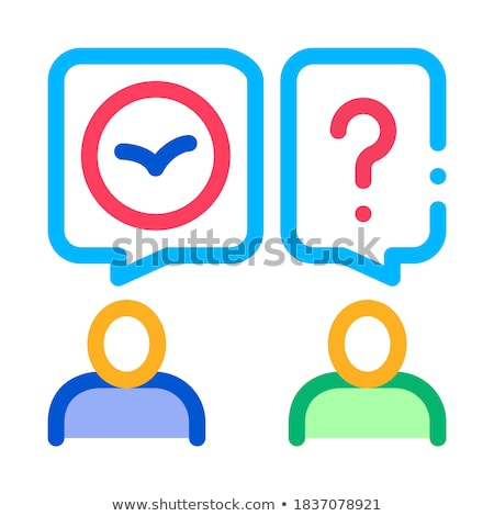 Human Interesting About Bird Icon Thin Line Vector Stock photo © pikepicture