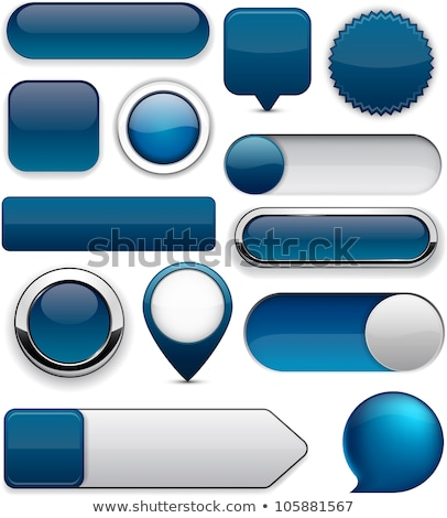 Stock photo: Round web buttons