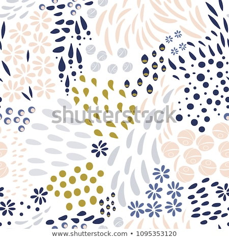 楽しい 花 パターン 背景 背景 葉 ストックフォト © lypnyk2