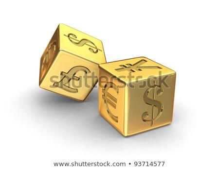 dinero · oro · riesgo · negocios · diseno · fondo - foto stock © 3mc
