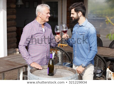 two men in wine factory stock photo © photography33