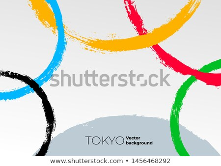Sports olympic games signs Stock photo © olira