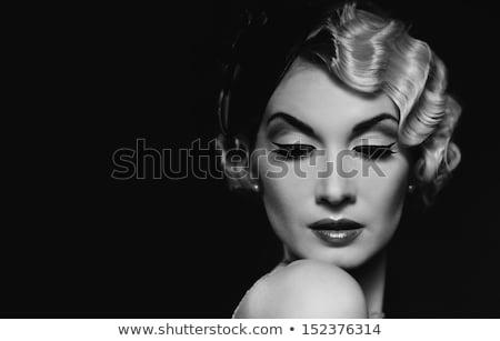 mode · shot · sensueel · rijke · dame · vrouw - stockfoto © lubavnel