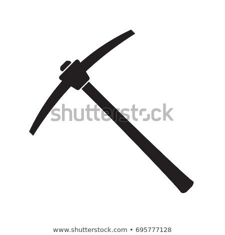 Ax isolato bianco strumento antichi Foto d'archivio © Stocksnapper