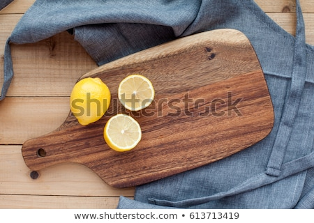 Citroenen ingrediënten limonade flessen citroen Stockfoto © elly_l