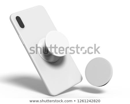 хром метрический металлической поверхности инструментом отражение никто Сток-фото © Stocksnapper