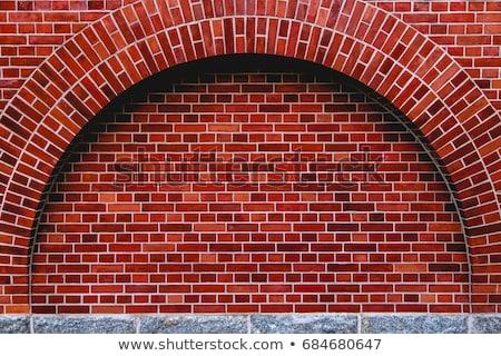 Tégla minta közelkép fal utca kő Stock fotó © gregory21