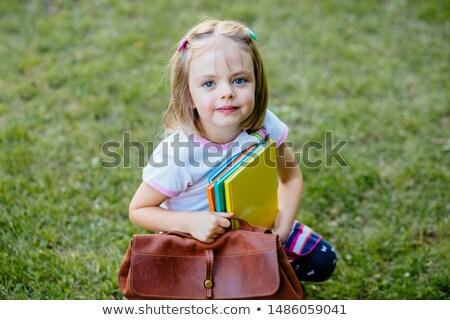 Teljes alakos portré iskola ifjonc kezek zseb Stock fotó © stockyimages