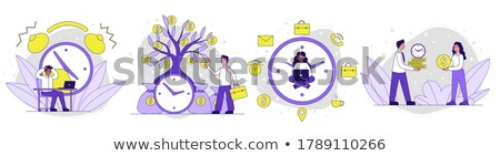 stopwatch · ingesteld · witte · bellen · klok · achtergrond - stockfoto © tashatuvango