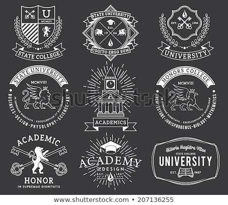 classic heraldic emblem crest shield  Stock photo © creative_stock