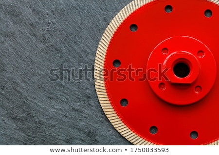 segment disc for metal and stone grinding, cutting.  Stock photo © inxti