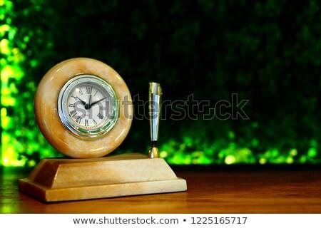 Classico ufficio clock dettagliato icona design Foto d'archivio © oblachko