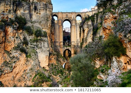 Old Town of Ronda Stock photo © rognar