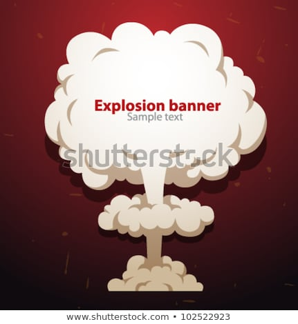 Atomic explosion Stock photo © SSilver