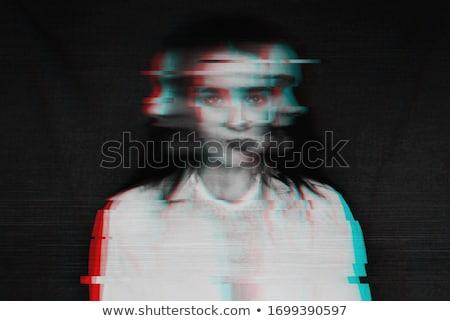 Blurred girl. Stock photo © Leonardi