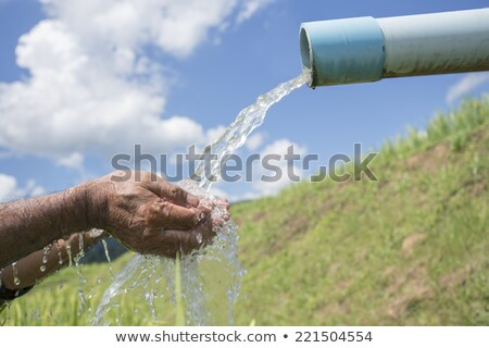 tap with strong stream of water Stock photo © Mikko