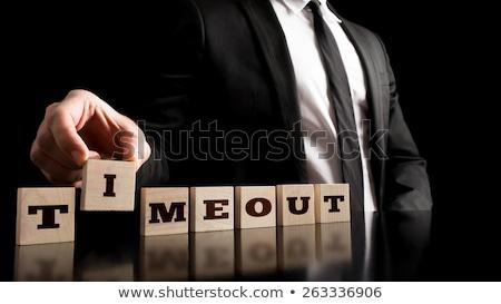 Businessman Timeout Stock photo © cteconsulting
