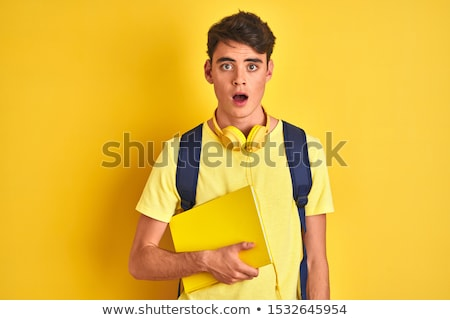 Teenager student with fear  Stock photo © dacasdo