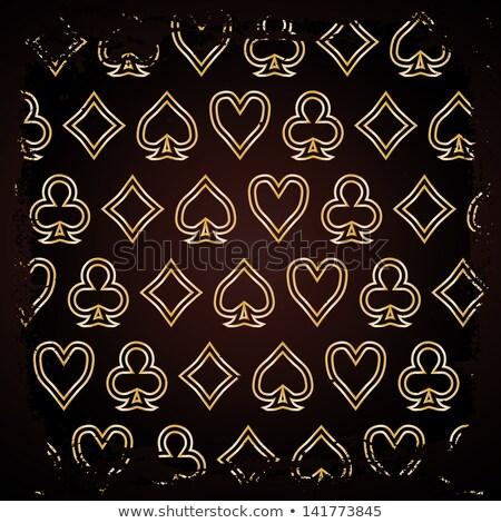 Abstract Poker wallpaper, vector illustration  Stock photo © carodi
