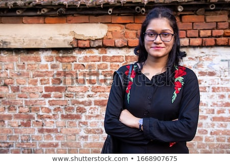 Brunette from India bussinesswoman student stock photo © lunamarina