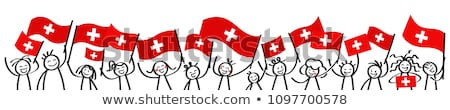 Stock photo: swiss support