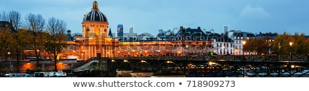 Франция Париж французский академии небе пейзаж Сток-фото © maisicon