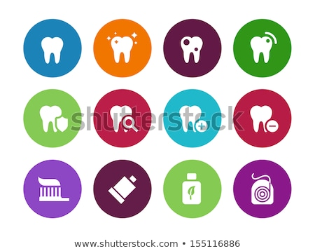 Rinse teeth icon. Stock photo © tkacchuk
