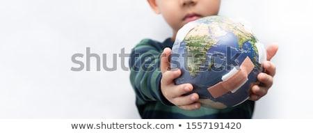 środowiskowy troska charakter centrum uwaga ekologia Zdjęcia stock © idesign