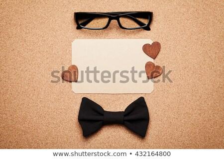 Boldog születésnapot parafa tábla levélpapír citromsárga öntapadó jegyzet papír Stock fotó © stevanovicigor