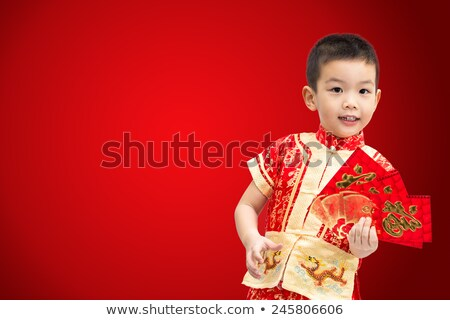 red envelope for chinese newyear  Stock photo © tungphoto