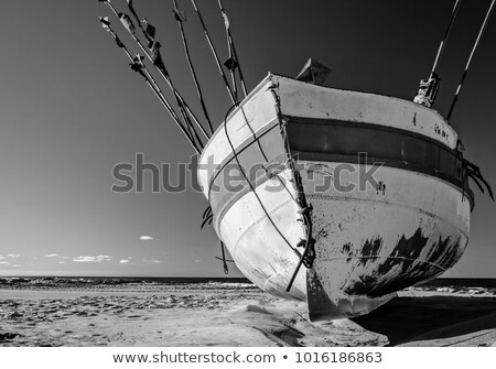 Prow of a fishing boat Stock photo © Hofmeester