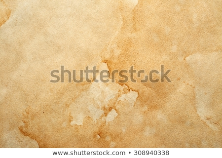 Vintage Paper With Coffee Stains Stock photo © adamson