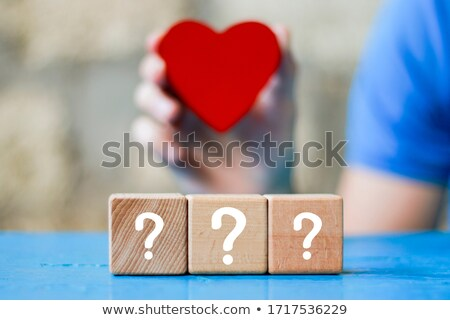 Heart Questions Stock photo © Lightsource