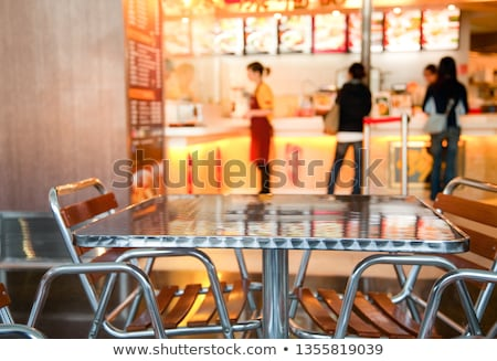 chinese · fast · food · lunch · vak - stockfoto © devon