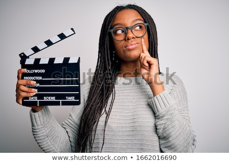 thinking movies stock photo © lightsource