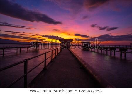 ラ · 橋 · 1 · 橋 · ヨーロッパ · 空 - ストックフォト © olandsfokus