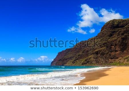 Vacío arena playa playa de arena océano Foto stock © backyardproductions