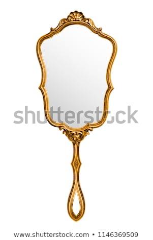 Vintage espelho vetor esboço mão moda Foto stock © Sonya_illustrations
