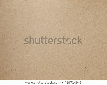 ambalaj · kâğıdı · çanta · kahverengi · boş · beyaz - stok fotoğraf © njnightsky