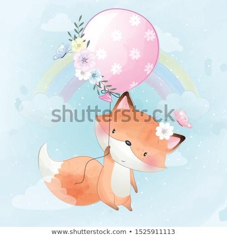 Foxy Stock photo © jeffmcgraw