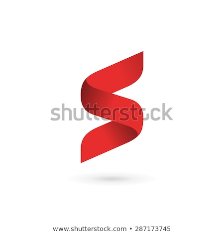 abstract vector logo letter s stock photo © netkov1