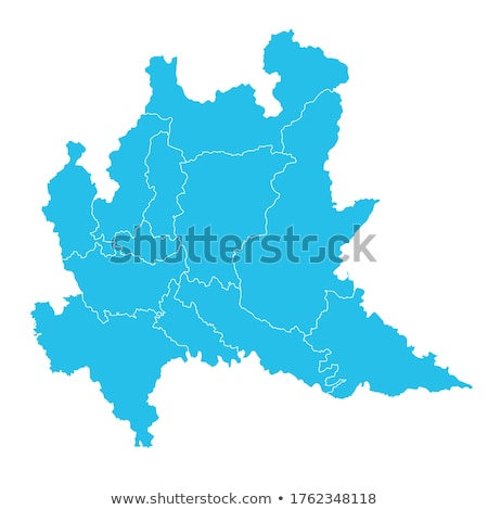 Harita İtalya dışarı yalıtılmış beyaz mavi Stok fotoğraf © Istanbul2009