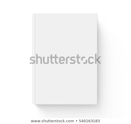 Front page of hard book cover Stock photo © Suljo