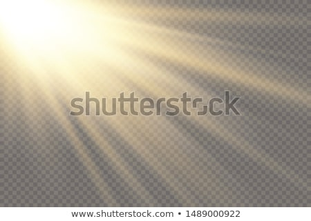 kék · ég · nap · absztrakt · függőleges · fény · kitörés - stock fotó © smeagorl