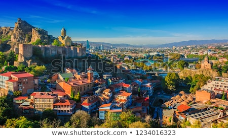 Panoramic view of old Tbilisi  Stock photo © master1305