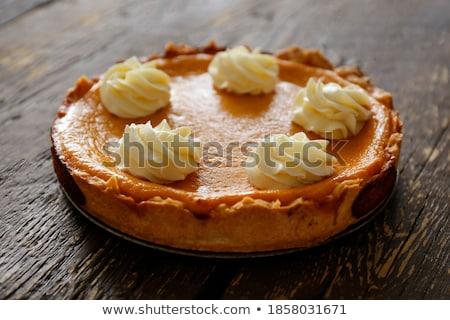 домашний · тыква · пирог · благодарение - Сток-фото © sarahdoow