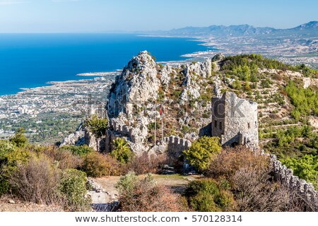 St. Hilarion castle. Kyrenia District, Cyprus Stock photo © Kirill_M